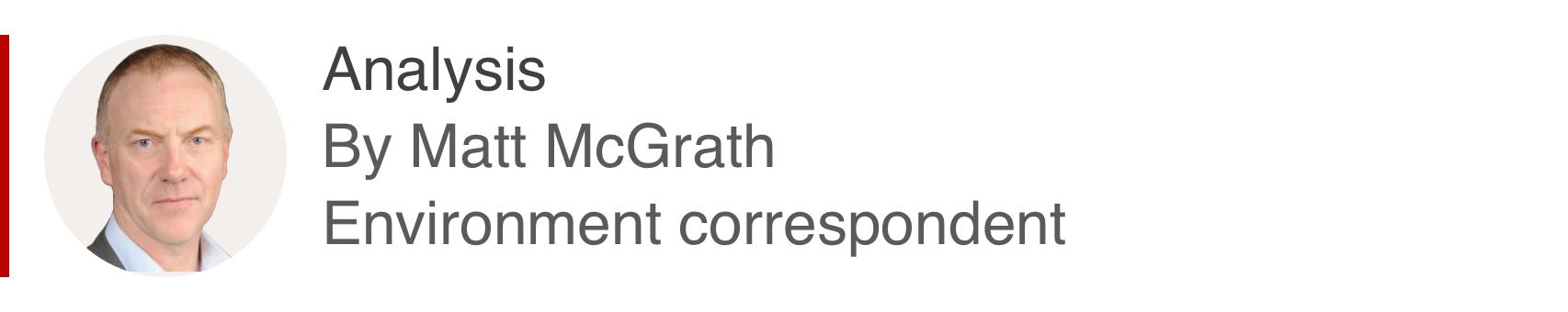 Analysis box by Matt McGrath, environment correspondent