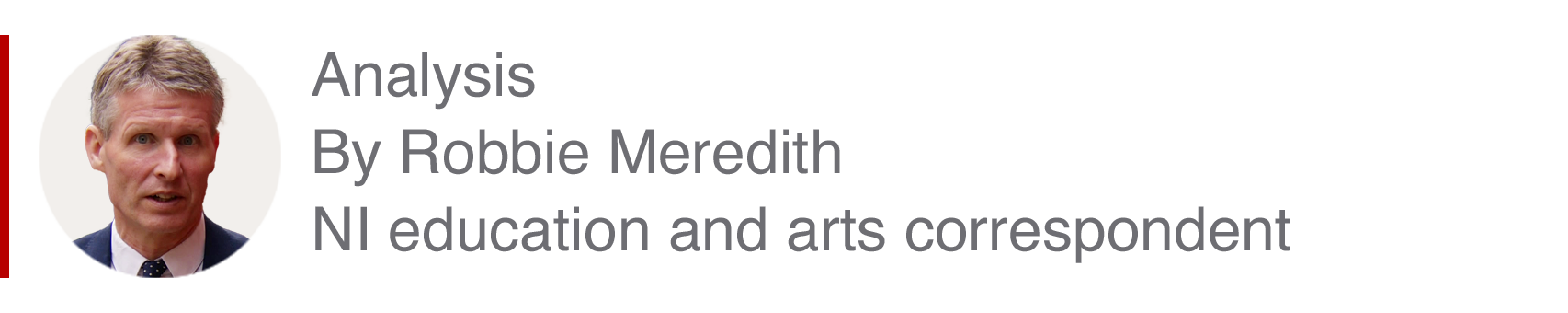 Analysis box by Robbie Meredith, NI education and arts correspondent