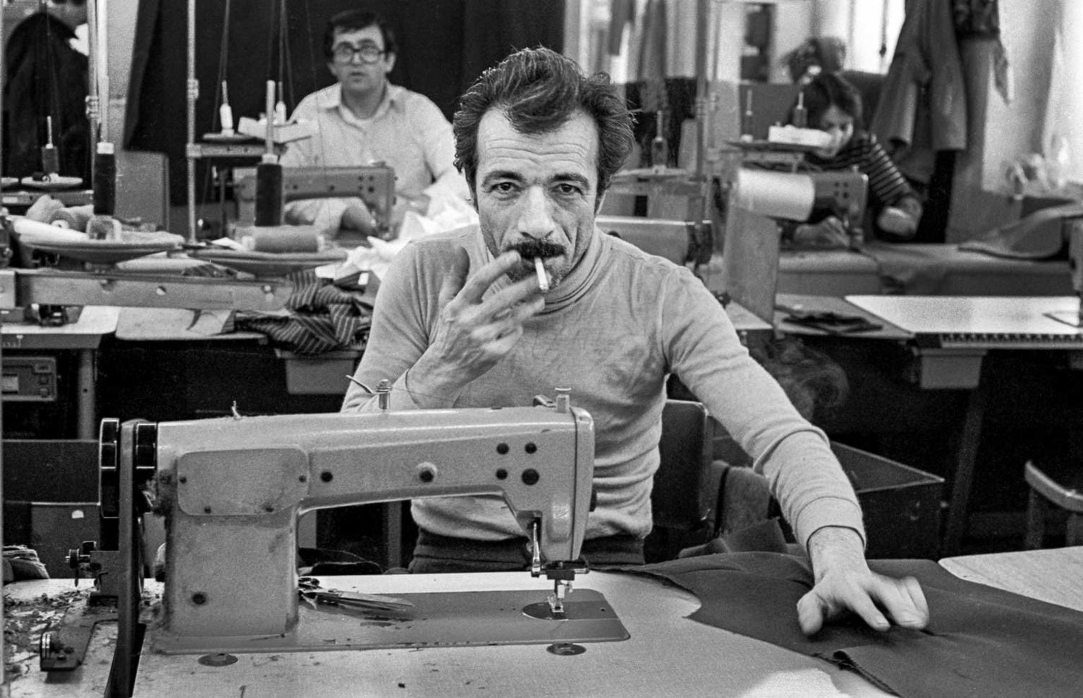 Garment factory, Shacklewell Lane, 1981