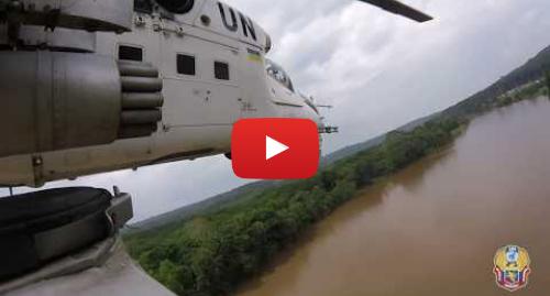 Youtube допис, автор: Управління преси Міноборони України: Українські вертолітники в ДР Конго взяли участь в операції під умовною назвою «Скорпіон»