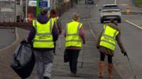 Litter pickers in Kidderminster