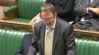 Rail Minister Paul Maynard