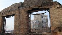 Сгоревший дом в Ростове