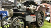 Talisman on display at the NEC Classic Motor Show