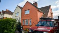 The exterior of the home of murdered teenager Becky Watts
