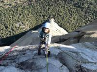 Selah Schneiter has climbed a rock wall that is beyond some of the most experienced climbers. She is 10 years old.