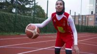Asma Elbadawi of Bradford Cobras basketball club