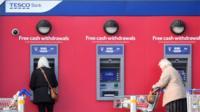 Tesco Bank cash points