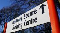 Medway Secure Training Centre sign