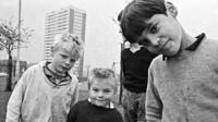 Boys in Balsall Heath in 1968
