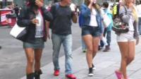 People wearing shorts