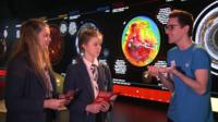 School Reporters from Edinburgh Academy visit Glasgow Science Centre