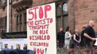 Parents protest outside Coventry Council House