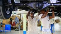 Car manufacturing plant in Nigeria