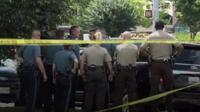 Capital Gazette shooting in Annapolis, Maryland.