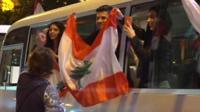 Demonstrators against corruption and the ruling elite on Independence Day were joined by Lebanese people from around the world.