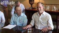 Prince William at Attitude meeting in Kensington Palace