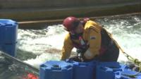 River rescue exercise