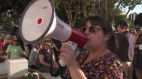 Protest in Alabama