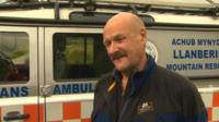 Mountain rescuer George Jones