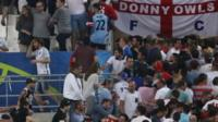 Fan trouble at the Euro 2016 tournament