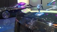 Rolls-Royce stand at Geneva motor show