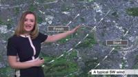 BBC Weather Presenter Jennifer Bartram