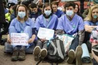 Striking junior doctors