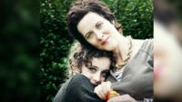 Anne-Marie Cockburn and her daughter Martha.