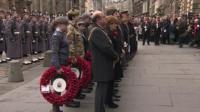 Armistice Day commemoration in Edinburgh