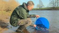 Fisheries Officer Paul Frear