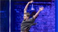 Tom Oakley dancing