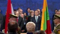Участники саммита НАТО