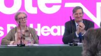 Margaret Beckett and Dominic Grieve