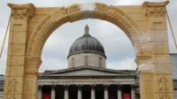 Palmyra arch recreated in Trafalgar Square
