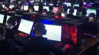 About 650 esports gamers and 100 spectators are battling it out to win thousands of pounds.