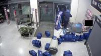 Aldi supermarket raid