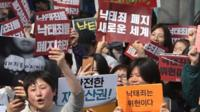 Rally in Seoul, South Korea
