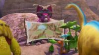 Animation of dinosaurs