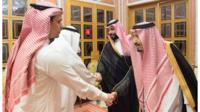 Khashoggi's family meet Saudi king and crown prince