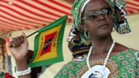Grace Mugabe file photo