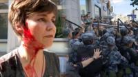 На митинге 27 июля задержали рекордные 1373 человека. Некоторых избили. Они собираются писать заявления на сотрудников полиции, которые их били.