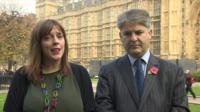 Jess Phillips and Philip Davies