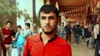 Iraqi Kurdish man