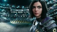 Rosa Salazar in a scene from Alita: Battle Angel