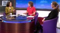 Theresa Villiers, Jo Coburn and Cat Smith