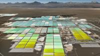 Edward Burtynsky photograph of a lithium field
