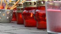 Акция памяти по погибшим в Кемерове