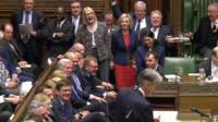 MPs laughing at the Chancellor