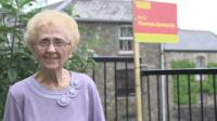 Blaenavon Mayor Phyllis Roberts, 93, has supported Labour all her life.